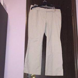 Ann Taylor loft khaki pants trousers. Size 12 P.
